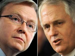 Rudd and Turnbull