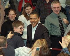Barrack Obama - Pressing the Flesh by cnicseye