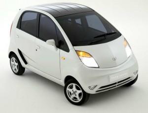 Tata Nano Car White
